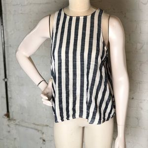 One clothing striped tank soft cotton L
